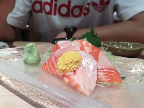 Salmon Belly Sashimi!, Noeluap